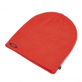 OAKLEY FINE KNIT BEANIE POOPY RED OS - 91099A-4A5-OS