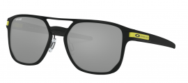 SLUNEČNÍ BRÝLE  - OAKLEY LATCH ALPHA - VALENTINO ROSSI COLLECTION - MATTE BLACK/ PRIZM BLACK IRIDIUM- OO4128-0853