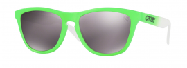 SLUNEČNÍ BRÝLE - OAKLEY FROGSKINS GREEN FADE COLLECTION - GREEN FADE / PRIZM DAILY POLARIZED- OO9013-99