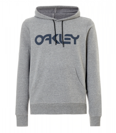 PÁNSKÁ MIKINA - OAKLEY B1B PO HOODIE ATHLETIC HEATHER GREY - 472398-24G-L