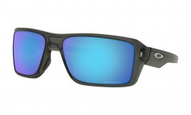 OAKLEY Double Edge Gray Smoke / Prizm Sapphire Polarized - OO9380-0666