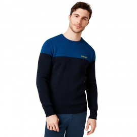 OAKLEY BICOLOR CREW NECK FOGGY BLUE M - 434131-6FB-M