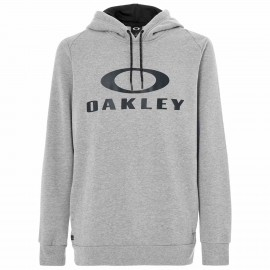 PÁNSKÁ MIKINA S KAPUCÍ - OAKLEY LOCKUP PO HOODIE Athletic Heather Grey - L - 472337A-24G-L