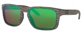 OCHRANNÉ SLUNEČNÍ BRÝLE S POLARIZACÍ - OAKLEY HOLBROOK - WOODGRAIN COLLECTION - WOODGRAIN / PRIZM SHALLOW WATER POLARIZED - OO9102-J855