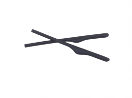 NÁHRADNÍ DÍL - OAKLEY KEEL / KEEL BLADE EARSOCK KIT BLACK 100-124-001