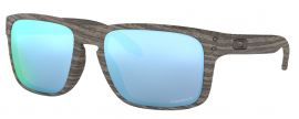 OCHRANNÉ SLUNEČNÍ BRÝLE S POLARIZACÍ - OAKLEY HOLBROOK - WOODGRAIN COLLECTION - WOODGRAIN / PRIZM DEEP WATER POLARIZED - OO9102-J955