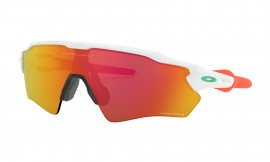 OAKLEY Radar EV XS Path Polished White / Prizm Ruby - OJ9001-1131