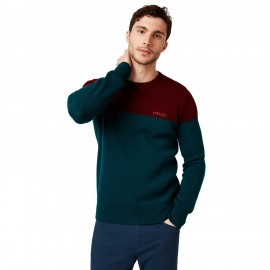 OAKLEY BICOLOR CREW NECK PLANET L - 434131-74D-L