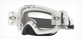 MOTOKROSOVÉ BRÝLE - OAKLEY O FRAME 2.0 MX - RACE READY - MATTE WHITE / CLEAR + ROLL OFF- OO7068-20