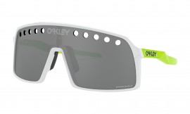OAKLEY SUTRO ORIGINS COLLECTION POLISHED WHITE / PRIZM BLACK VENTED - OO9406-1337