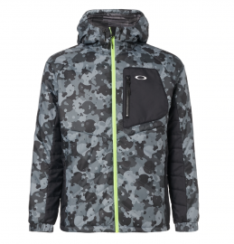PÁNSKÁ BUNDA - OAKLEY ENHANCE INSULATION JACKET 9.7 BLACK PRINT - 412823-00G-L