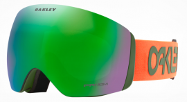 LYŽAŘSKÉ BRÝLE - OAKLEY FLIGHT DECK XL FACTORY PILOT - FACTORY PILOT ORANGE DARK BRUSH / PRIZM JADE - OO7050-82