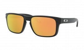 OCHRANNÉ SLUNEČNÍ BRÝLE S POLARIZACÍ PRO JUNIORY - OAKLEY HOLBROOK XS (YOUTH FIT) - POLISHED BLACK / PRIZM ROSE GOLD POLARIZED - OJ9007-0753