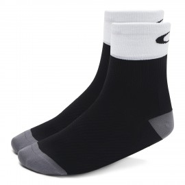 CYKLISTICKÉ PONOŽKY - OAKLEY CYCLING REGULAR SOCK Blackout - 93268-02E-XL