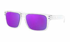 OAKLEY Holbrook XS Polished Clear / Violet Iridium - OJ9007-0253