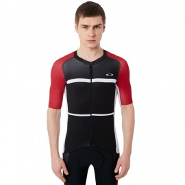 CYKLISTICKÝ DRES - OAKLEY COLORBLOCK ROAD JERSEY Red Line - 434144-465 - XL