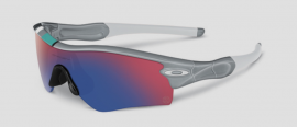 SPORTOVNÍ SLUNEČNÍ BRÝLE - OAKLEY RADAR PATH - 30 YEARS SPORT COLLECTION - POLISHED FOG / +RED IRIDIUM - 26-266