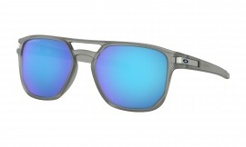 OAKLEY Latch Beta Matte Grey Ink / Prizm Sapphire Polarized - OO9436-0654