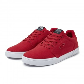 OAKLEY CANVAS FLYER SNEAKER Red Line 8.5 - 13551-465-8.5