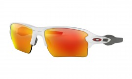 OAKLEY Flak 2.0 XL Polished White / Prizm Ruby - OO9188-9359