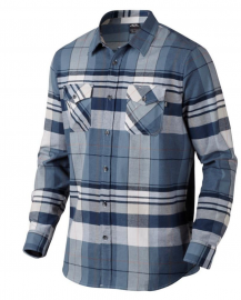 PÁNSKÁ KOŠILE - OAKLEY FRONTIER LONG SLEEVE WOVEN SHIRT- BLUE SHADE 401774-67N-XL