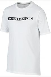 PÁNSKÉ TRIKO - OAKLEY NEW ORIGINAL TEE WHITE - 456491-100-L