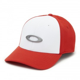 OAKLEY TINCAN CAP White/Red - L/XL