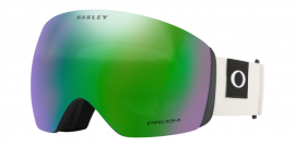 LYŽAŘSKÉ BRÝLE - OAKLEY FLIGHT DECK - Blockedout Dark Brush Grey / Prizm Snow Jade Iridium - OO7050-69