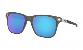 OAKLEY Apparition Satin Black Ink / Sapphire Iridium Polarized - OO9451-0655
