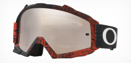 MOTOKROSOVÉ OCHRANNÉ BRÝLE - OAKLEY PROVEN MX - DESTRESS TAGLINE RED/ BLACK IRIDIUM + CLEAR - OO7027-27