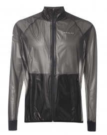 CYKLISTICKÁ BUNDA - OAKLEY MTB WIND JACKET BLACKOUT - 412695-02E-XL