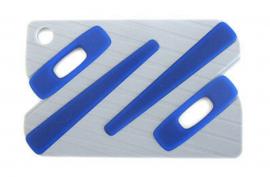 NÁHRADNÍ DÍL - OAKLEY PAPERCLIP EARSOCK KIT/ ICON CARD  BLACK / BLUE 100-009-003