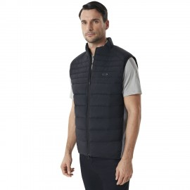 PÁNSKÁ VESTA  NA GOLF - OAKLEY INSULATED HYBRID GOLF VEST Blackout - 412563-02E-M