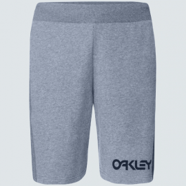 Pánské fleecové kraťasy - Oakley Reverse Fleece Short - New Granite Heather - FOA400453-28B-L
