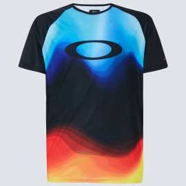 OAKLEY MTB SS TECH TEE MULTICOLOR GRADIENT L - FOA400848-97C-L