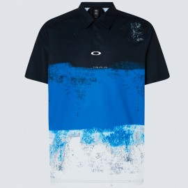 PÁNSKÉ GOLFOVÉ TRIKO - OAKLEY COLOR BLOCK SHADE POLO UNIFORM BLUE L - FOA400132-6UN-L