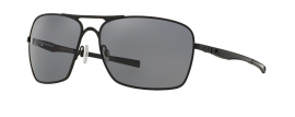 SLUNEČNÍ BRÝLE - OAKLEY PLAINTIFF SQUARED - MATTE BLACK / GREY POLARIZED - OO4063-04