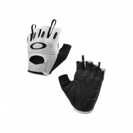 CYKLISTICKÉ RUKAVICE - OAKLEY FACTORY ROAD GLOVE 2.0 White - 94275-100 - S