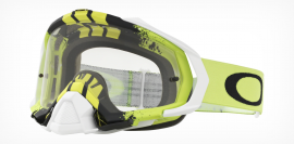 MOTOKROSOVÉ BRÝLE - Oakley MAYHEM PRO MX PINNED RACE GUNMETAL YELLOW / CLEAR - OO7051-30