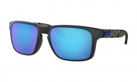 OCHRANNÉ SLUNEČNÍ BRÝLE S POLARIZACÍ - OAKLEY HOLBROOK - PRIZMATIC COLLECTION - MATTE BLACK PRIZMATIC / PRIZM SAPPHIRE POLARIZED - OO9102-H055