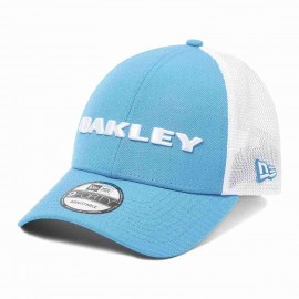 OAKLEY HEATHER NEW ERA HAT ATOMIC BLUE 911523-6B2 - One Size