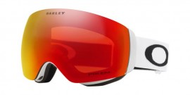 LYŽAŘSKÉ BRÝLE - OAKLEY FLIGHT DECK XM - MATTE WHITE / PRIZM SNOW TORCH IRIDIUM - OO7064-24