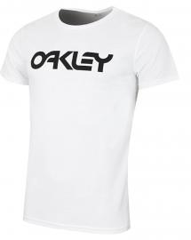 PÁNSKÉ TRIKO - OAKLEY 50-MARK II TEE WHITE- 456932SSFM-100-XL