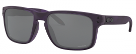 OCHRANNÉ SLUNEČNÍ BRÝLE - OAKLEY HOLBROOK - INFINITE HERO COLLECTION - TRANSLUCENT PURPLE SHADOW CAMO / PRIZM BLACK - OO9102-O455
