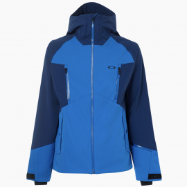 PÁNSKÁ ZIMNÍ BUNDA - OAKLEY SOFT SHELL JACKET 10K - ELECTRIC BLUE 412521-670-XL