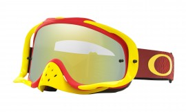 Oakley Crowbar MX Goggle Bright Red/24k iridium - OO7025-36