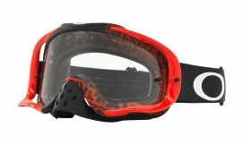 Oakley Crowbar MX Goggle White/clear - OO7025-40