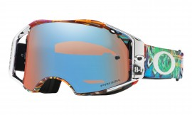 Oakley Airbrake MX  Jeffrey Herlings Signature Series Herlings Signature Graffito Rwb/prizm mx sapphire - OO7046-53