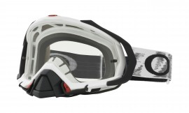 Oakley Mayhem Pro MX Goggle Matte White/clear - OO7051-14