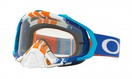 Oakley Mayhem Pro MX Goggle White/clear - OO7051-29
